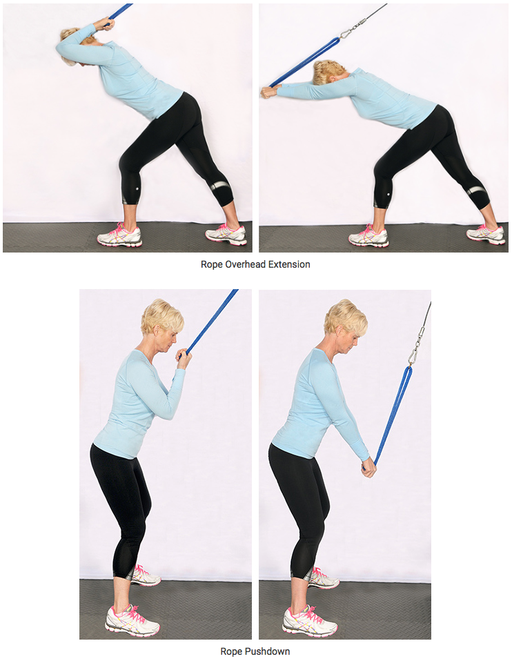 Stellabotte Triceps Rope Exercises
